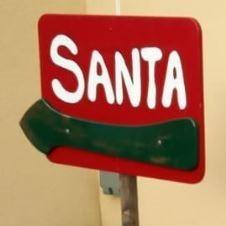 Santa Sign 2019