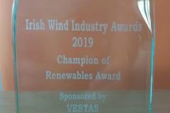 IWEA Award  - Champion of Renewables 2019 _02